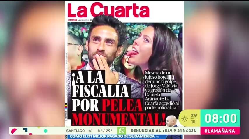 Fiscalía Oriente investiga por agresión a Jorge Valdivia y Daniela Aránguiz