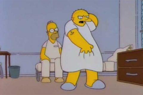 Michael Jackson sí participó en Los Simpson