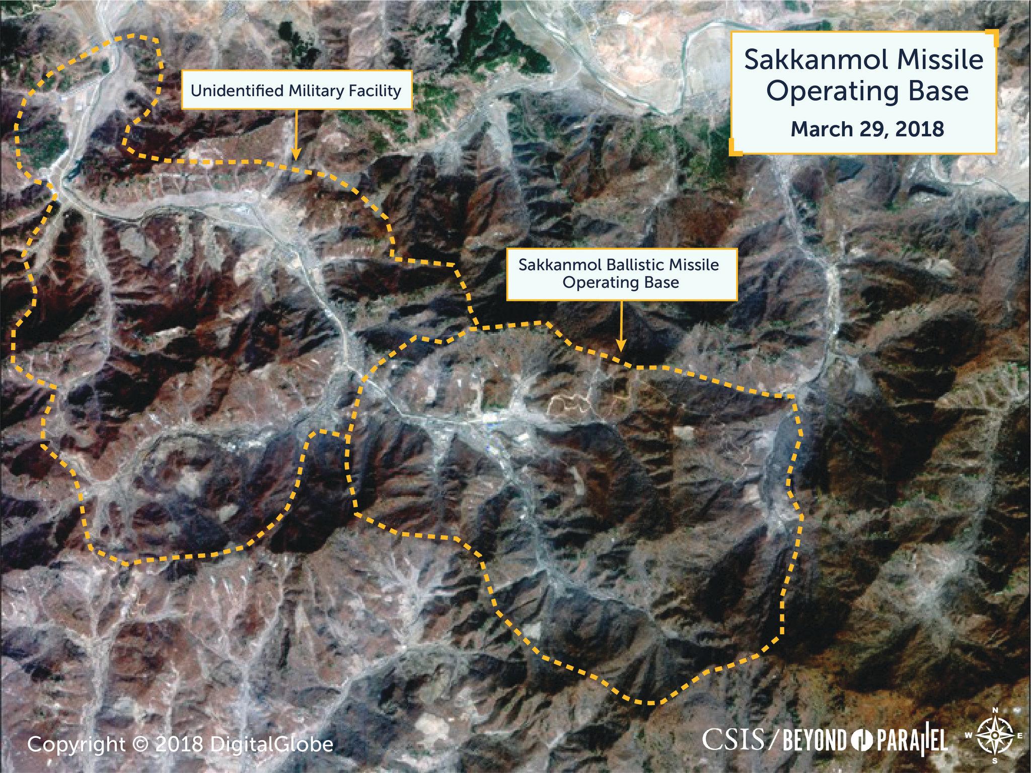 EU: Norcorea oculta bases de lanzamientos de misiles