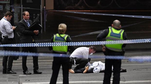 Melbourne: dos muertos, entre ellos el atacante, tras un atentado terrorista