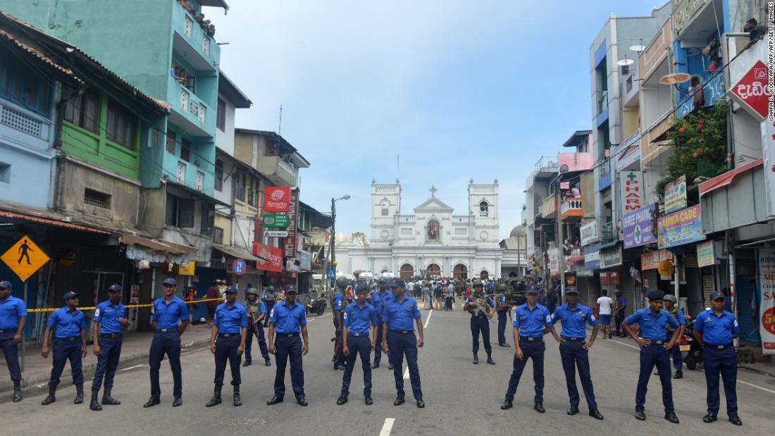 Atentado terrorista en Sri Lanka en iglesias y hoteles deja varios muertos