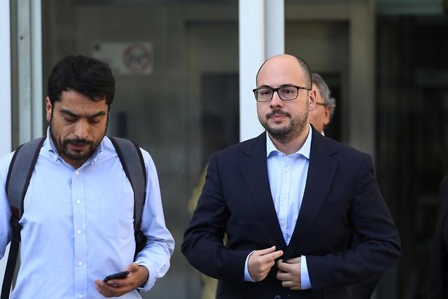 Formalizan a Nicolás López por delitos sexuales