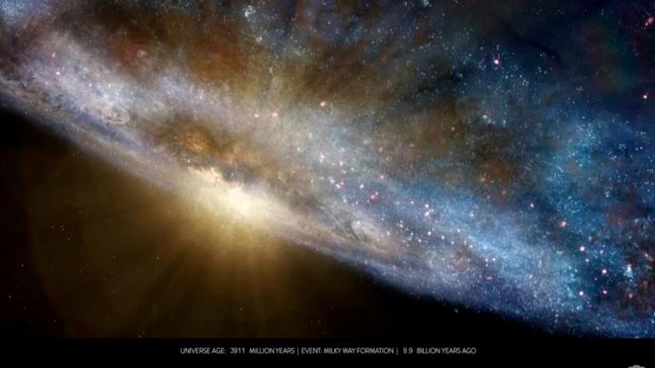 Científicos detectan la primera molécula de gran explosión — Big Bang