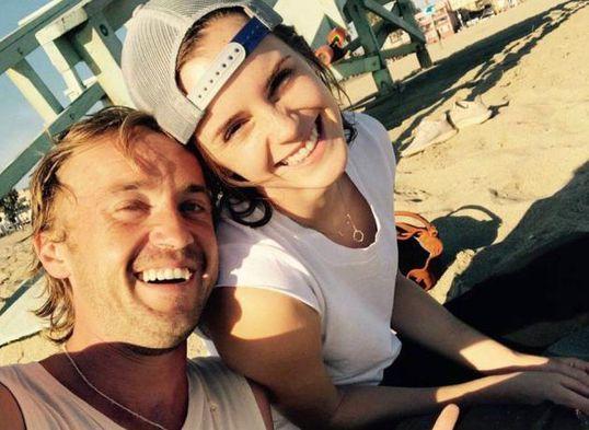 Instagram: Emma Watson y Tom Felton de Harry Potter aparecen juntos