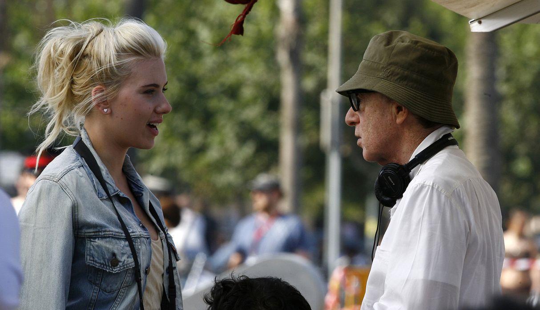 Scarlett Johansson defendió a Woody Allen de las denuncias por abuso: