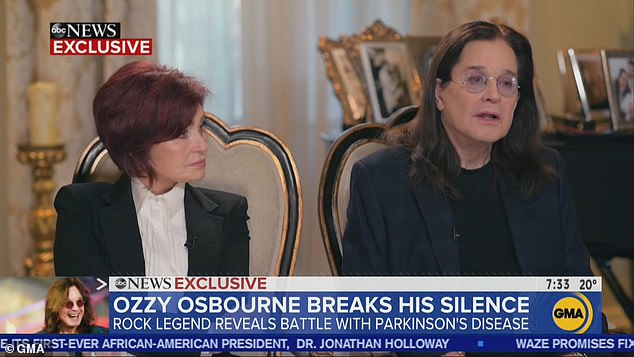Ozzy Osbourne revela tener enfermedad de Parkinson