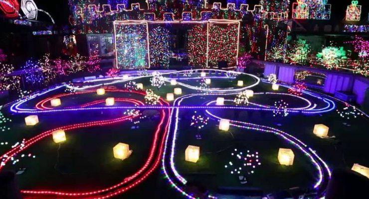 Fotos Casas Decoradas Navidad.Casas Adornadas Con Miles De Luces Para Navidad Ya Son Todo