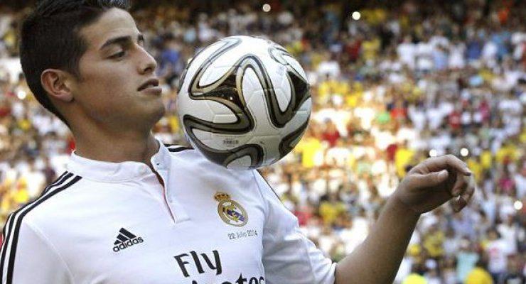 """James Rodríguez: """"En el Real Madrid podría jugar hasta con"""