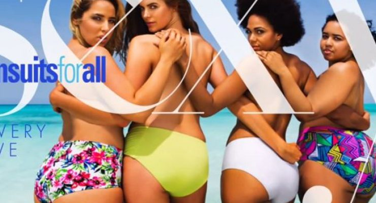"8d3e83c94cbc Belleza sin tallas: Video muestra a mujeres ""XL"" posando en bikini ..."