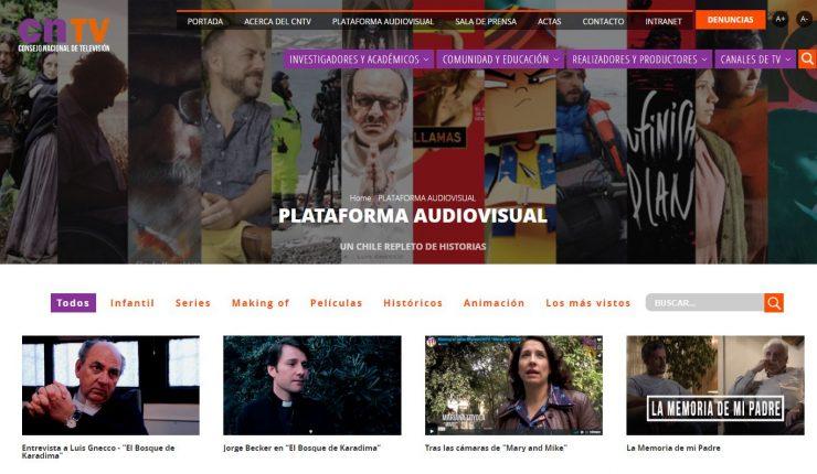 CNTV lanza servicio online para ver cine y series chilenas
