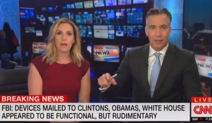 Evacuan las oficinas de CNN en Nueva York tras encontrar