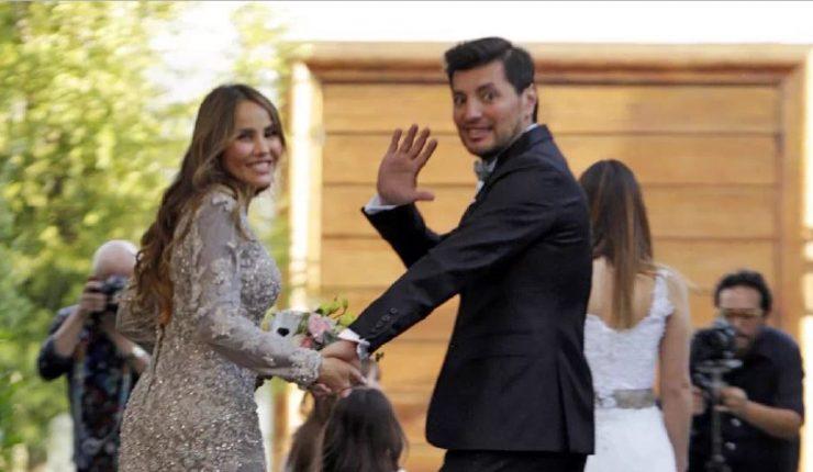 Paloma Aliaga se casó con Cristóbal Valenzuela en ceremonia íntima