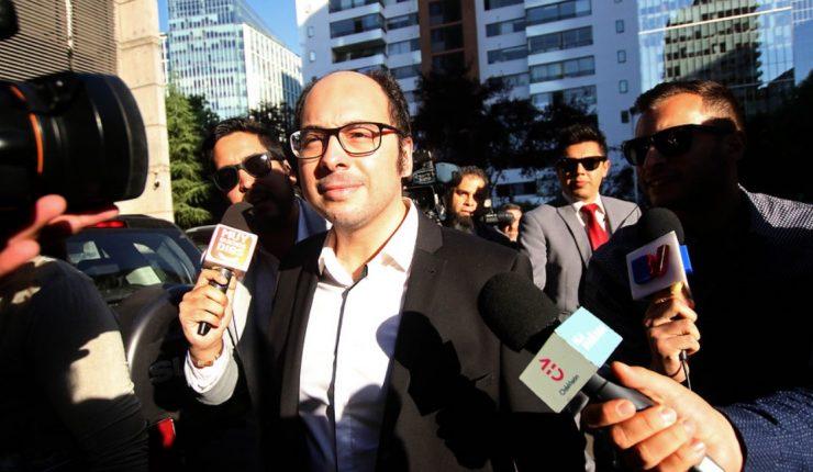 Nicolás López declara en Fiscalía por acusaciones de abuso sexual