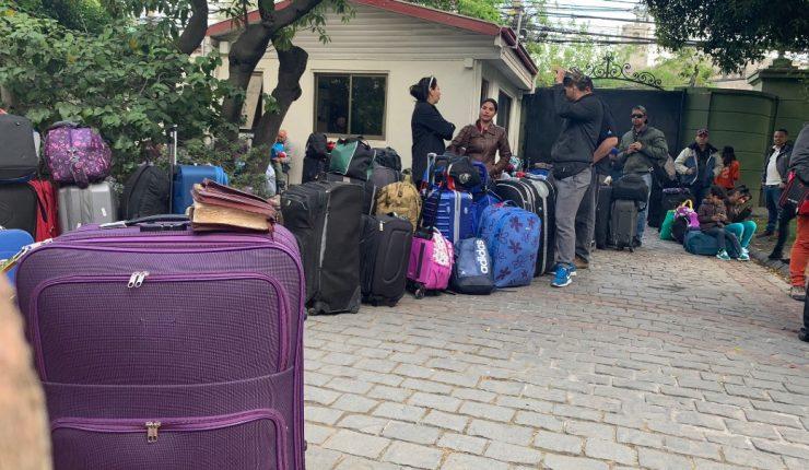 Unos 100 venezolanos refugiados en Chile retornaron a su país