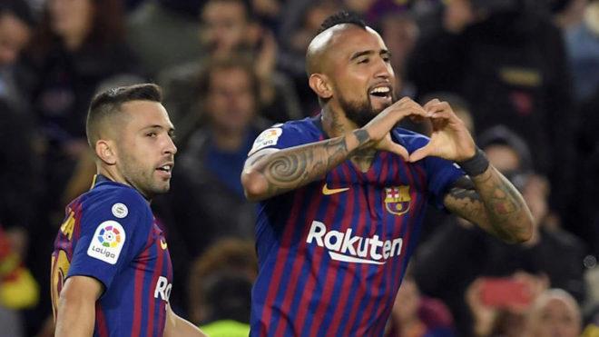 El balance de Vidal tras su 1° semestre en el Barça