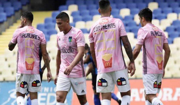 O Higgins de Rancagua visitó a Huachipato este domingo para jugar su  partido debut en el Campeonato Nacional 2019 f02a3687e3d63
