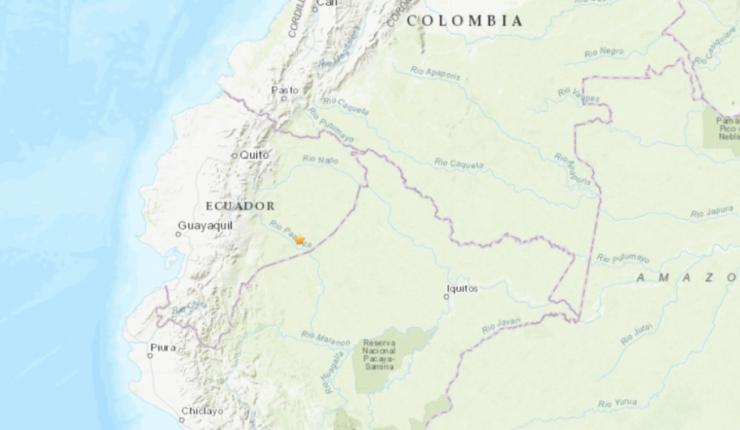 Terremoto de 7,7º en Ecuador