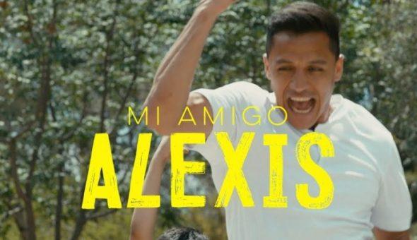 Todo listo para el estreno de la película de Alexis Sánchez