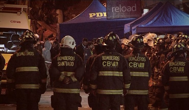 Vecina de Valparaíso grabó nuevo derrumbe — Sigue la alerta