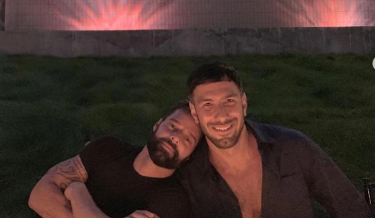Ricky Martin celebró el cumpleaños de su esposo