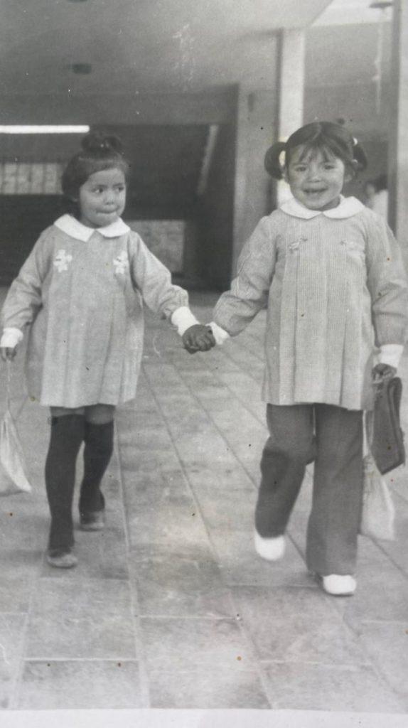 Yasna Provoste en su infancia.