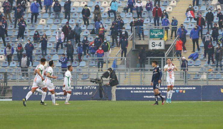 Cobresal frenó sorpresivamente a la U en Rancagua con el retorno de los  hinchas a las tribunas