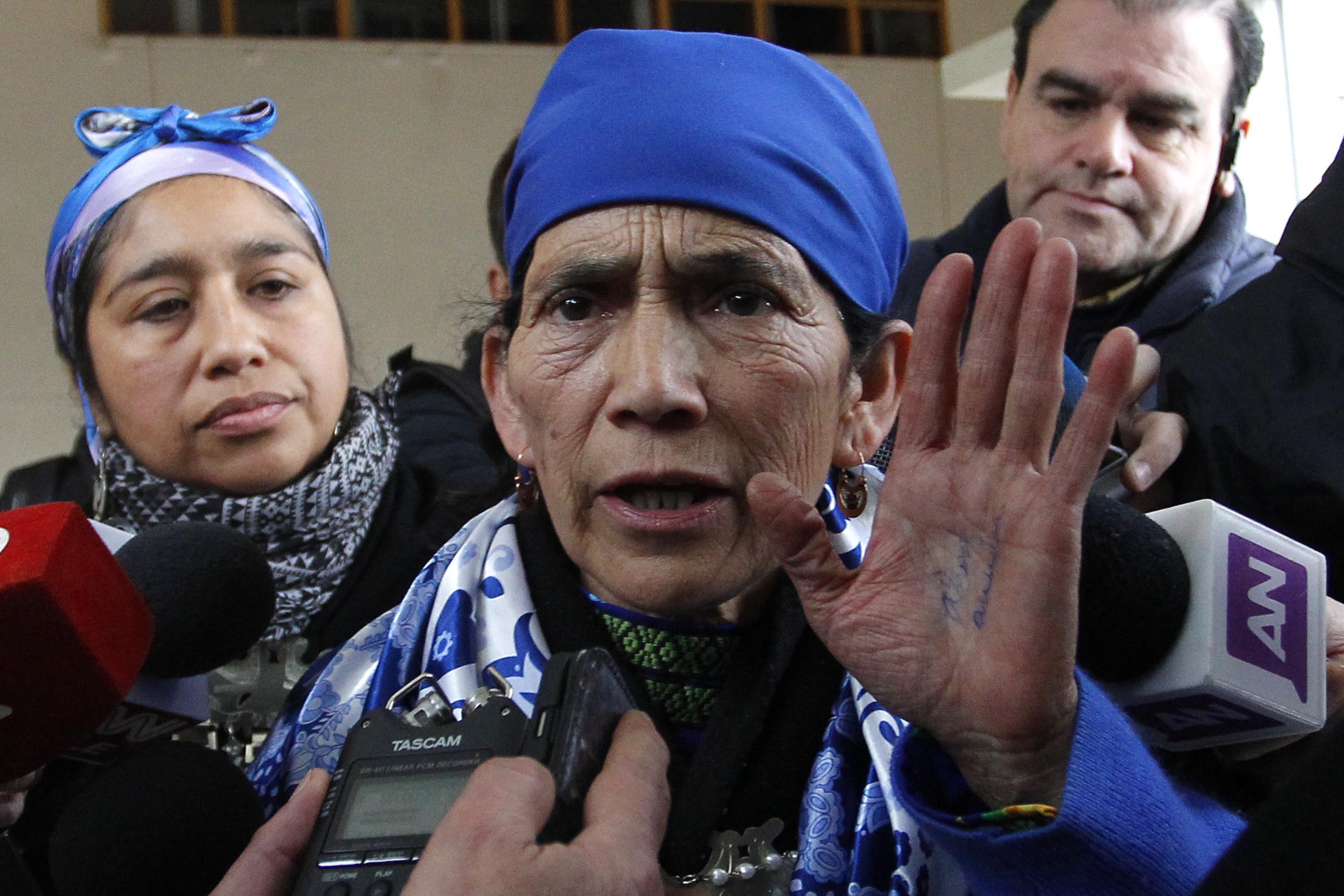 Machi Linconao fue postulada para el Premio Nacional de Derechos Humanos