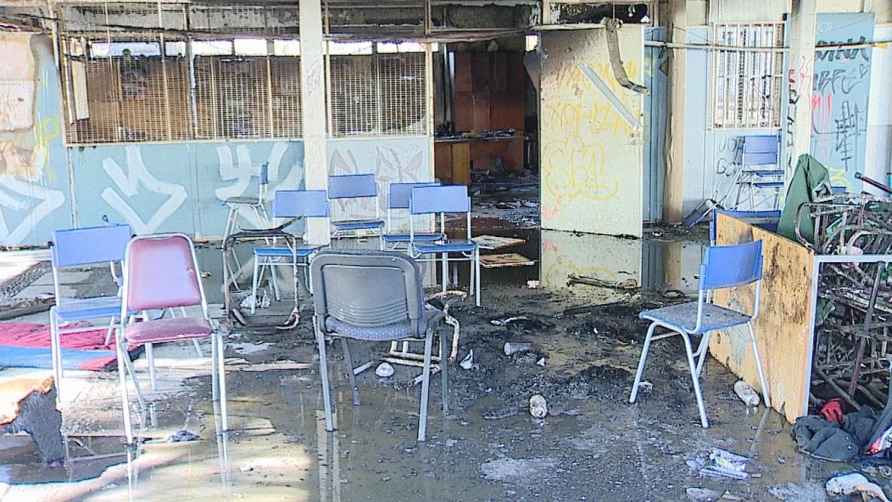 15 fotos que muestran la destrucción del Liceo Amunátegui