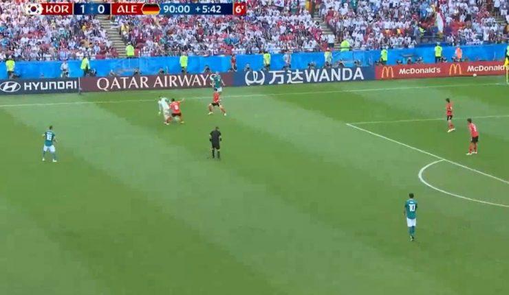 Alemania quedó fuera del Mundial en fase de grupos