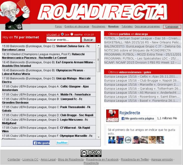 Ordenan el cierre de todos los dominios de Roja Directa c1aa6c809cca2