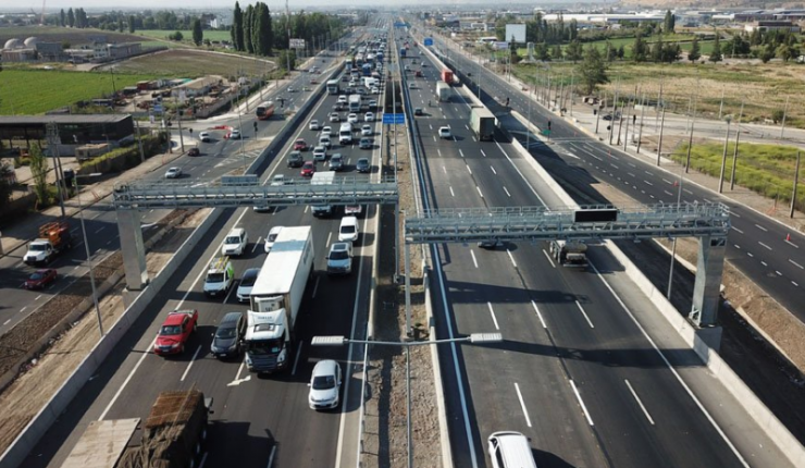 Autopista Santiago Lampa Contara Con Pago Con Tag