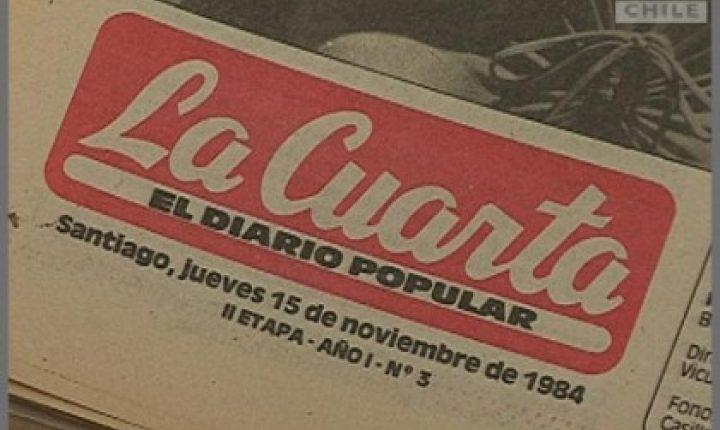 "La historia del diario ""La Cuarta"""