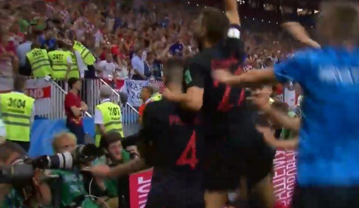 Resumen y goles del Croacia vs. Inglaterra del Mundial 2018
