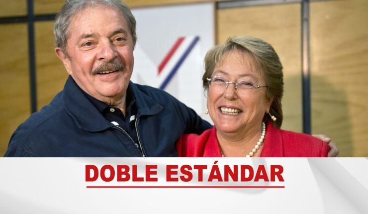 Bachelet firma petición para que Lula pueda inscribir su candidatura presidencial