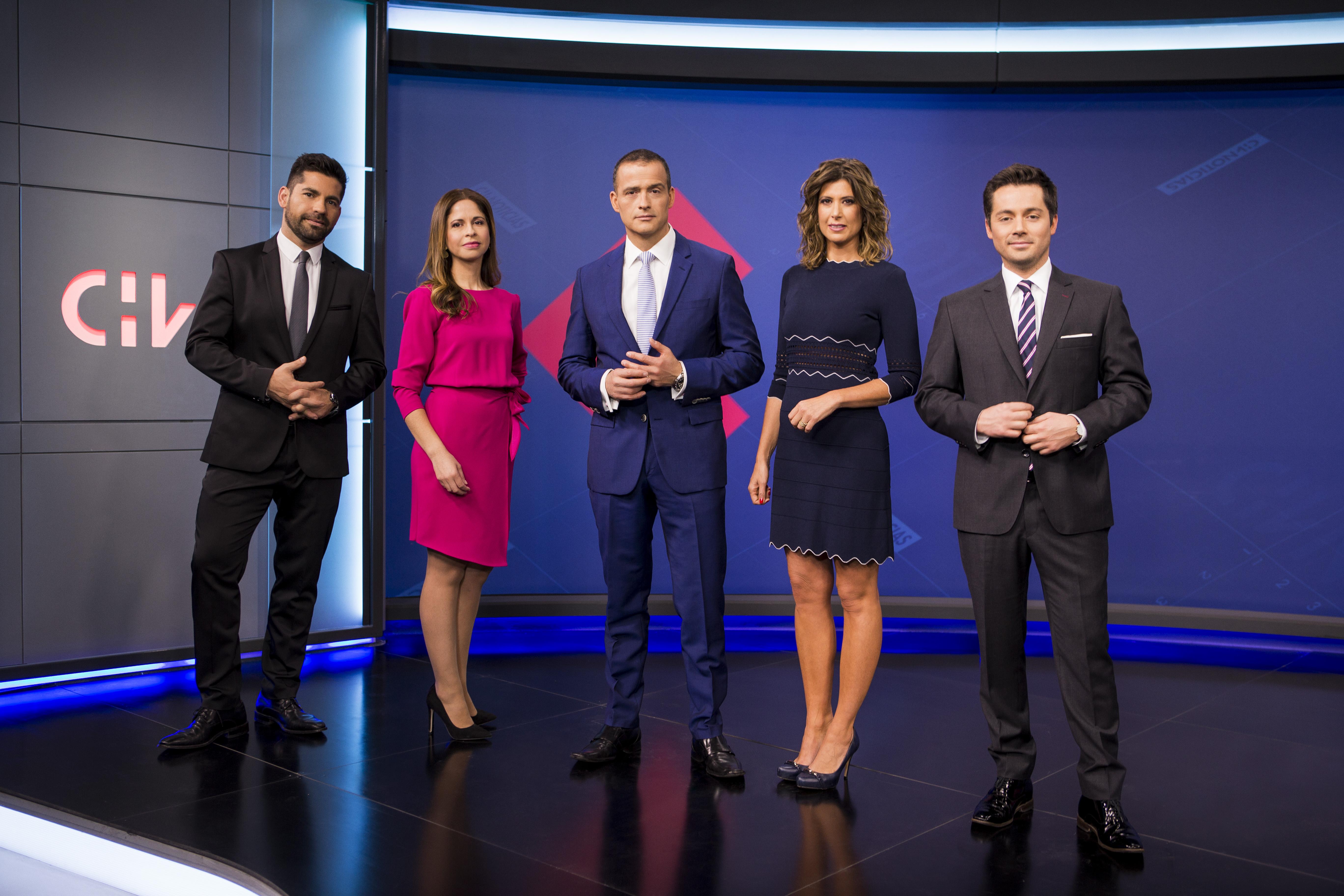 CHV Noticias debutó en nuevo horario de las 20:00 horas y se impuso en sintonía