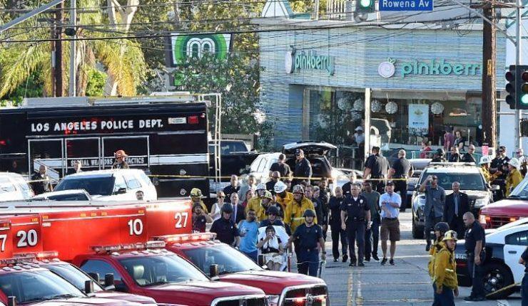 Autoridades estadounidenses reportan tiroteo en Los Ángeles