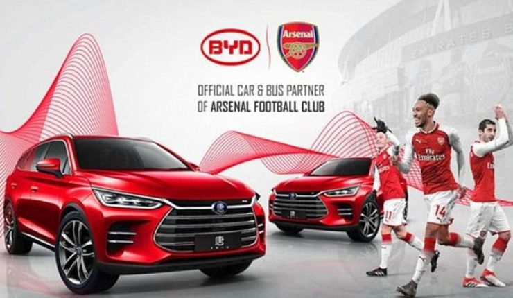 El Arsenal, estafado por una campaña de coches eléctricos