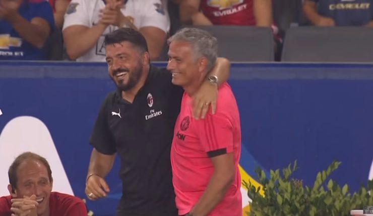 Alexis marcó en victoria del United sobre Milan — A paso firme