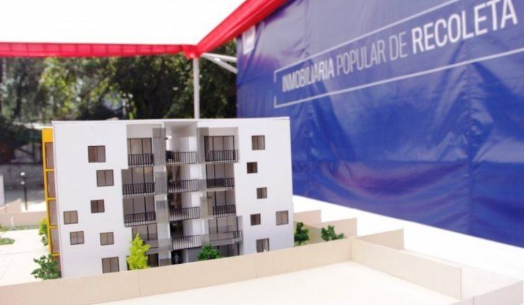 Recoleta adjudica la construcci n para primer edificio de for Inmobiliaria popular