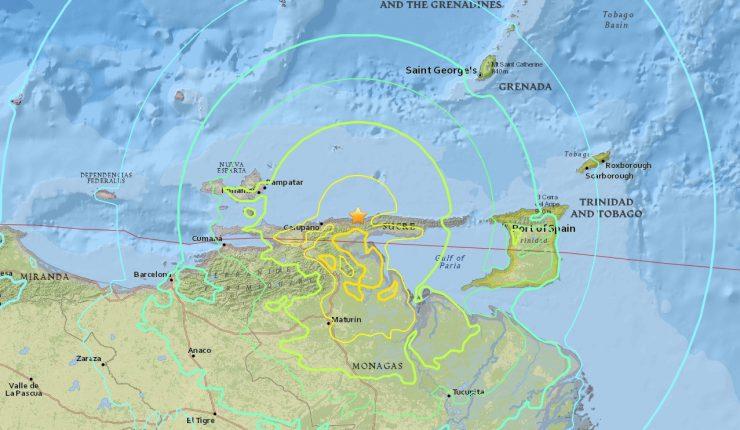 Venezuela tiene nuevo sismo con magnitud de 5.7