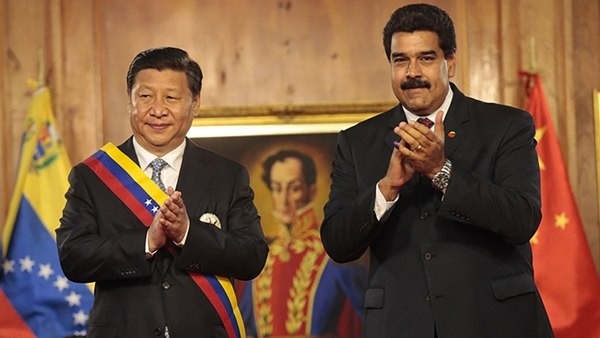 Image result for Pictures, maduro, Xi Jinping