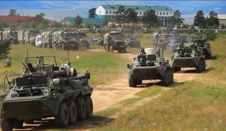 Rusia inicia sus mayores maniobras militares desde 1981
