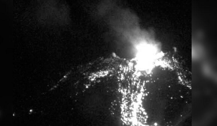 Explosión en el complejo volcánico de Chillán — Alerta en Chile
