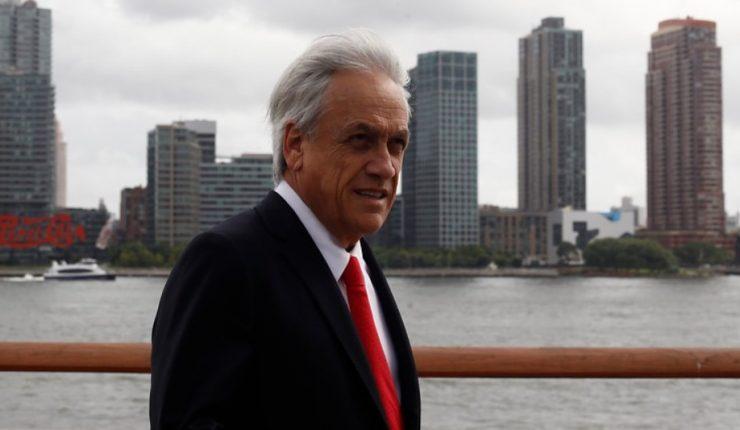 Junto a Piñera, Trump habló de Venezuela: