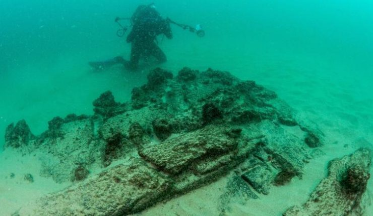 Descubren naufragio de más de 400 años en Portugal