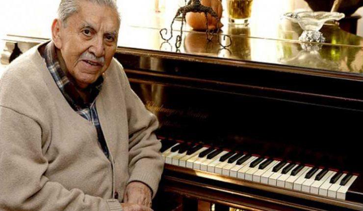 Falleció el destacado pianista Vicente Bianchi a los 98 años