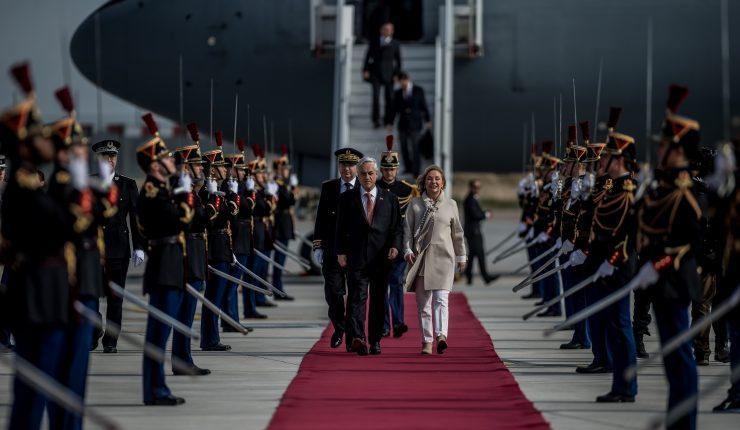 Presidente Piñera inició gira a Europa que lo reunirá con papa Francisco