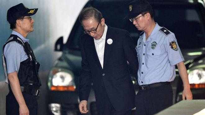 Expresidente surcoreano condenado a 15 años por corrupción