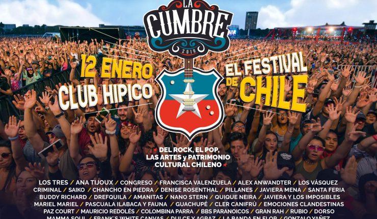 Festival La Cumbre reveló la programación de sus cinco escenarios