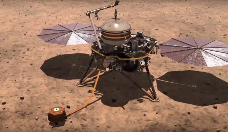InSight de la NASA escucha un murmullo en Marte